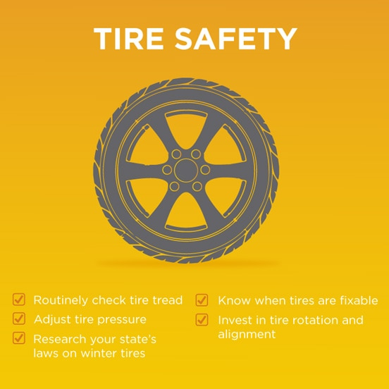5 Car Tire Safety Tips The Torch Liberty Mutual
