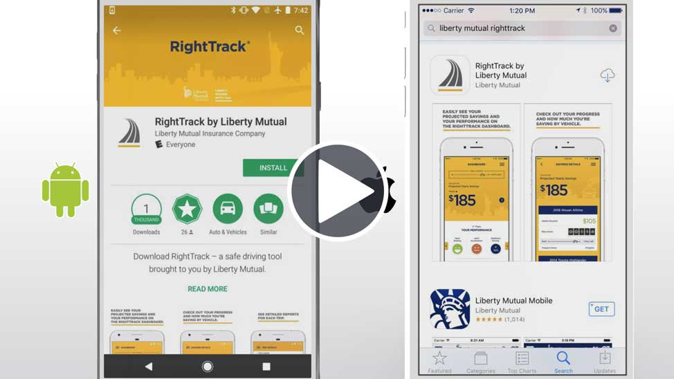 Liberty Mutual Com >> How Righttrack Works Getting Started With Righttrack