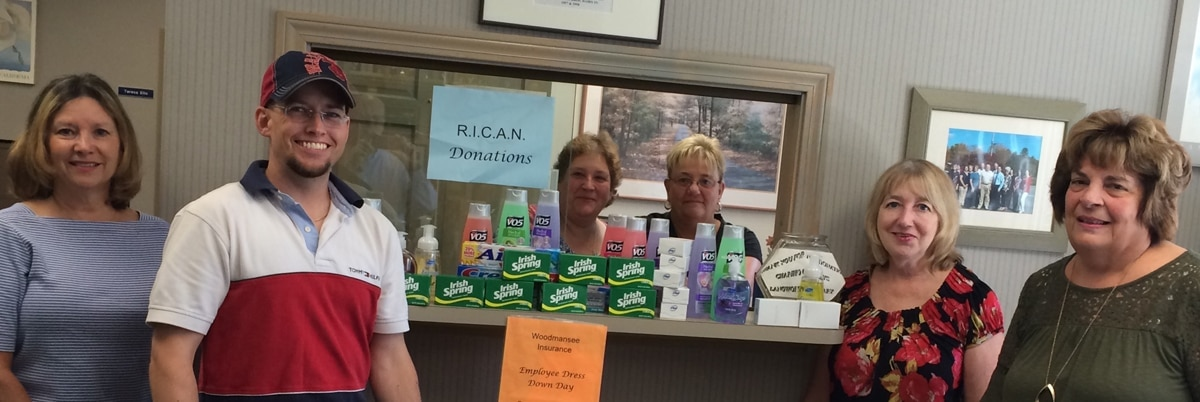 agents collect personal care items to donate